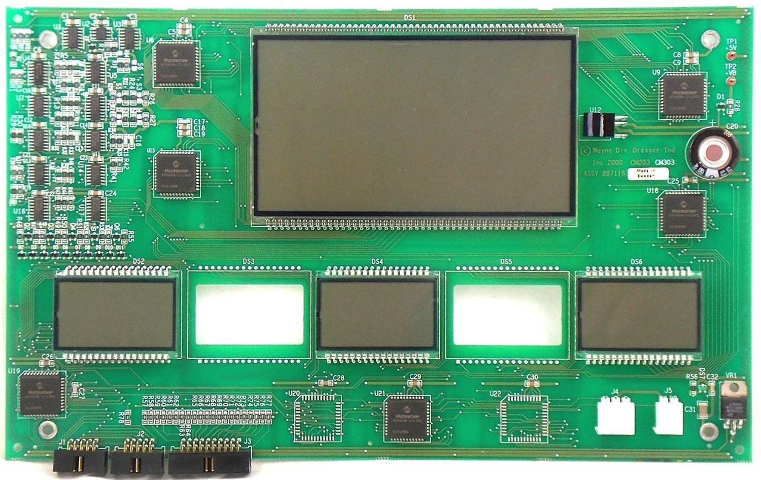 887118-R03 Wayne 3 Pd IGEM Main Display Board