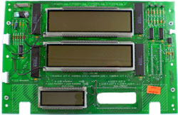 419814-4 Tokheim 262A Money/Volume Main LCD Display