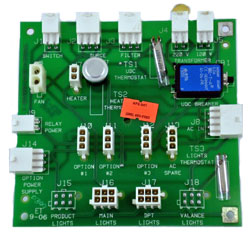 420955-1 Tokheim Premier AC Distribution Board