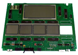 421437-2 Tokheim Premier B 4 Product Main LCD Display Board