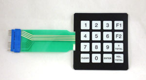 M00147A001 ENCORE Manager Programming Keypad