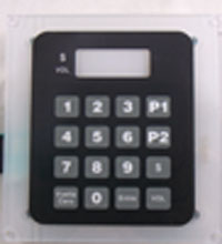 Gilbarco Preset Keypad Assy With SPANISH Overlay. (T17885-02)