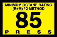 R60030-08   Advantage Switch Graphic - 85 Octane Yellow