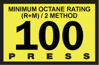 R60030-100   Advantage Switch Graphic - 100 Octane Yellow