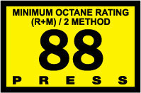 R60030-14   Advantage Switch Graphic - 88 Octane Yellow