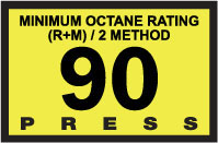 R60030-18   Advantage Switch Graphic - 90 Octane Yellow