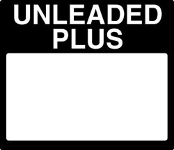 Gilbarco PPU Product ID Overlay - UNLEADED PLUS