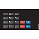 Gilbarco ENCORE/ECLIPSE Keypad Overlay - SPEEDWAY
